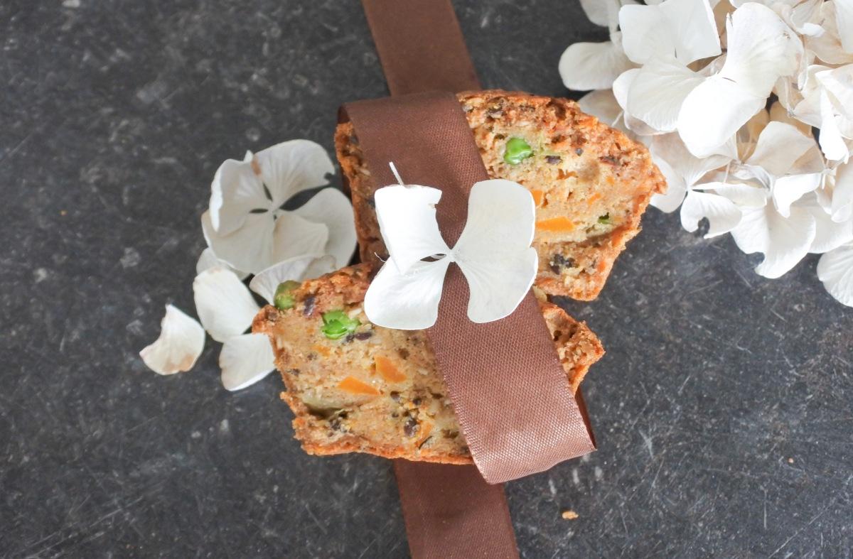 Herzhafte Muffins, glutenfrei, vegan