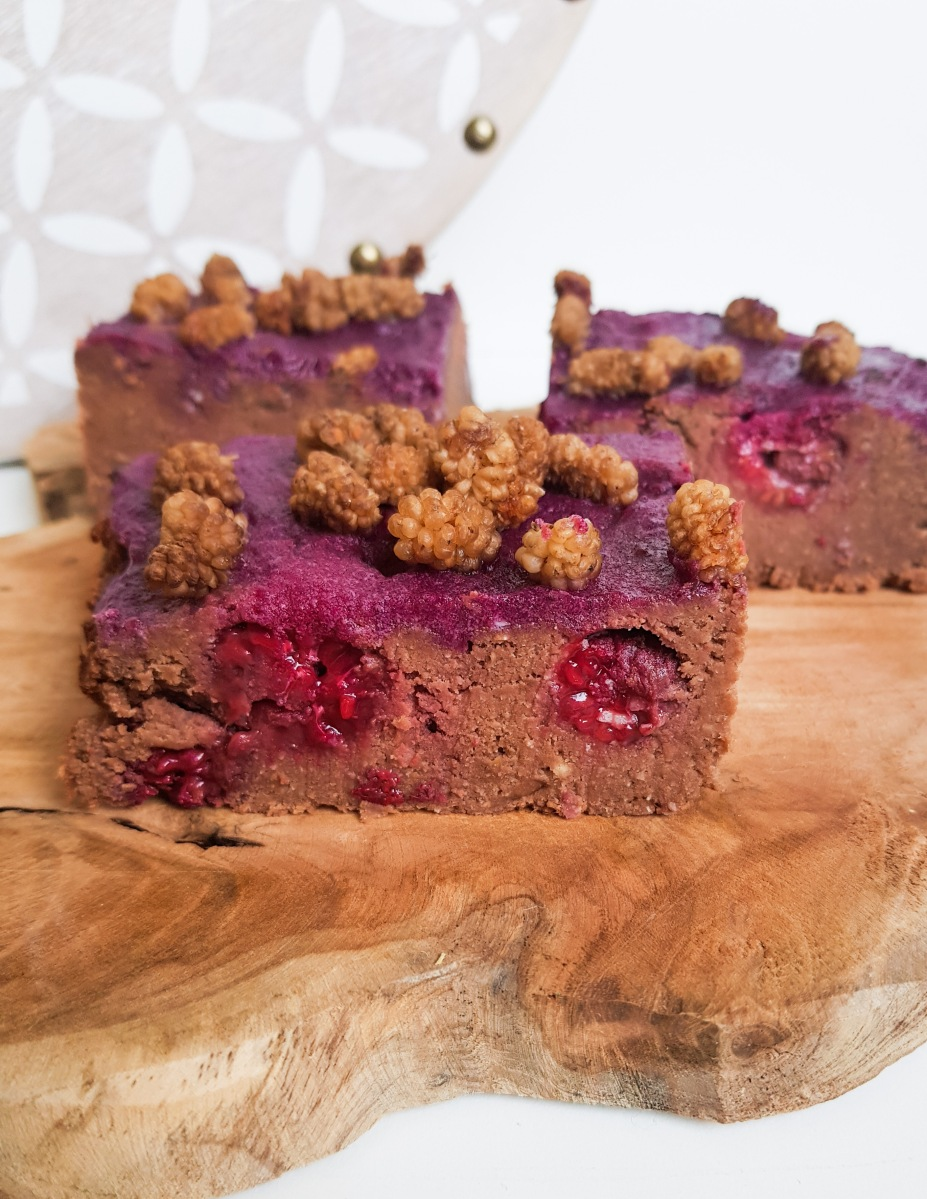 Brownie, vegan, glutenfrei und ohne industriellen Zucker