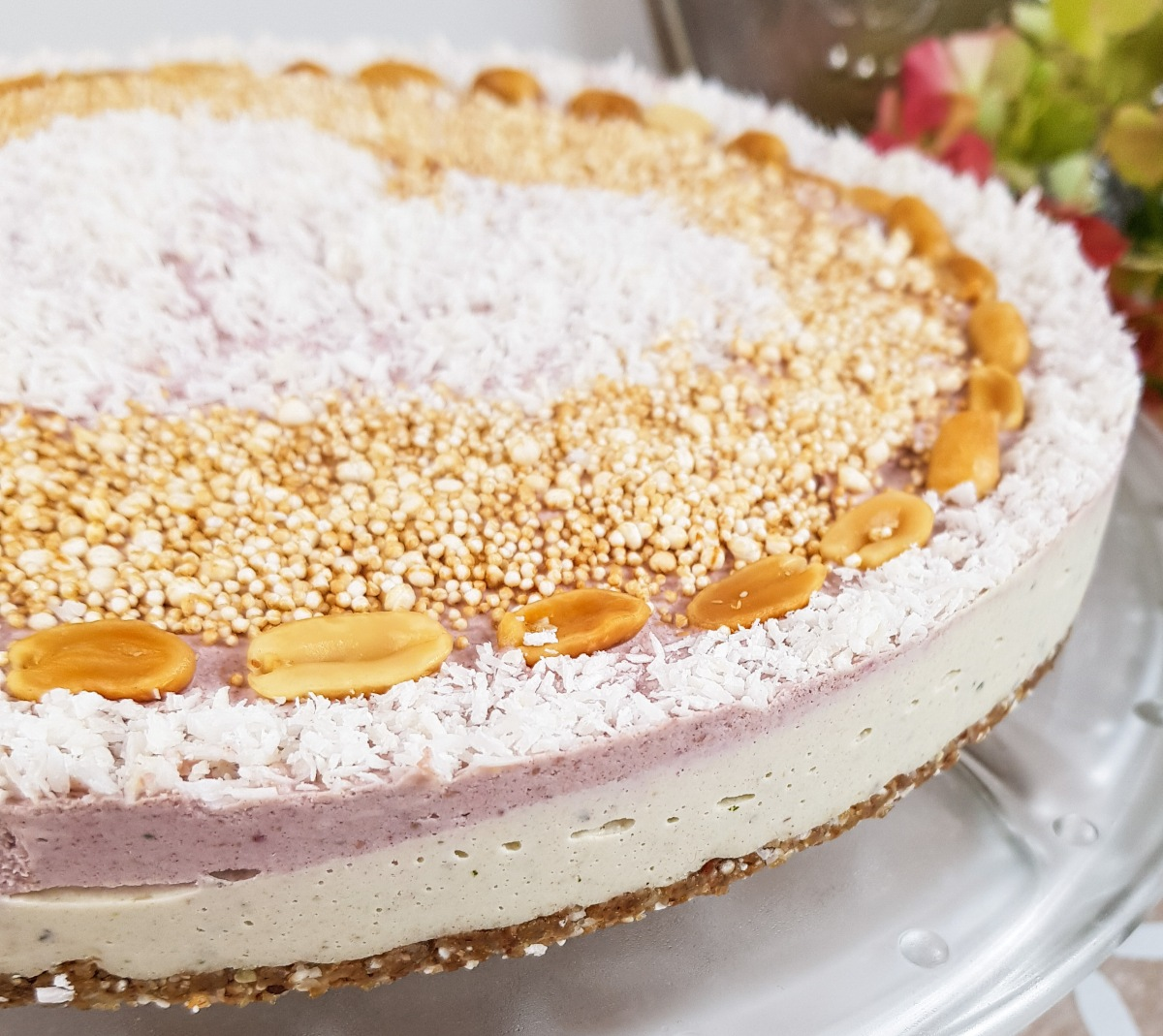 Torte, roh-vegan-glutenfrei