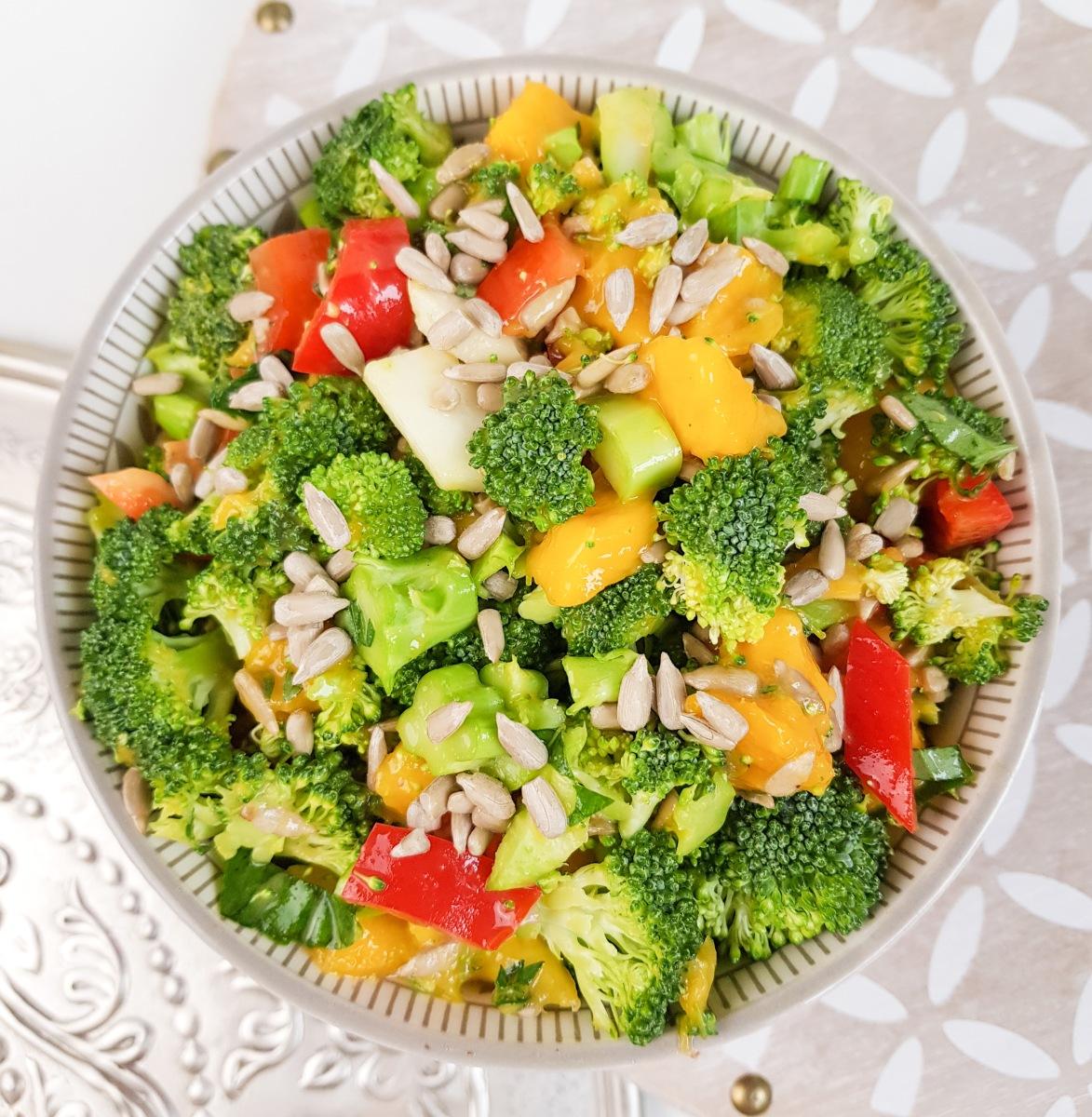 Brokkoli Salat, vegan